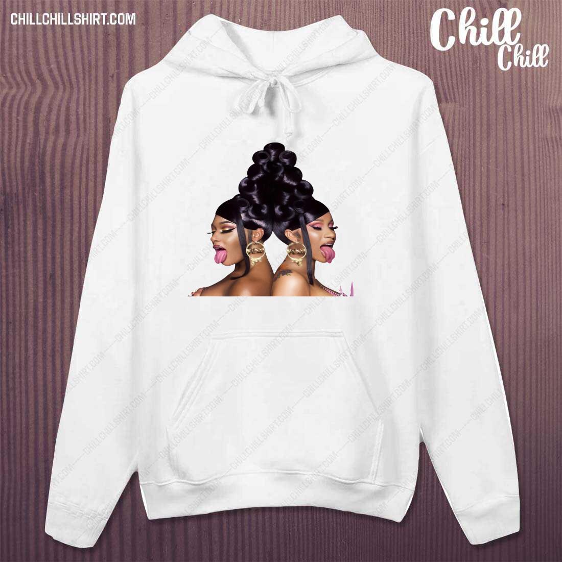 Cardi B and Megan Thee Stallion Shirt hoodie