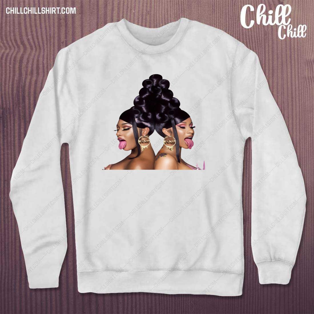 Cardi B and Megan Thee Stallion Shirt sweater