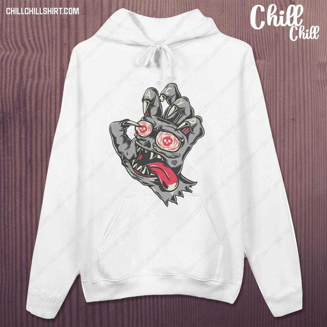 Devil Demon Hand Comics Drawing Shirt hoodie