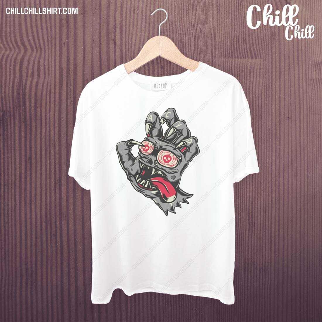 Devil Demon Hand Comics Drawing Shirt