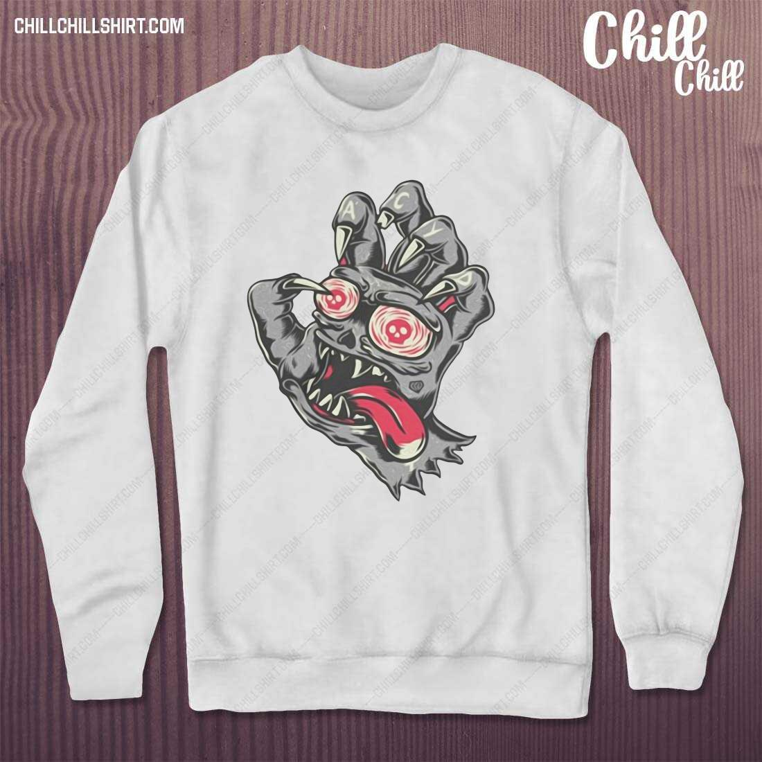 Devil Demon Hand Comics Drawing Shirt sweater