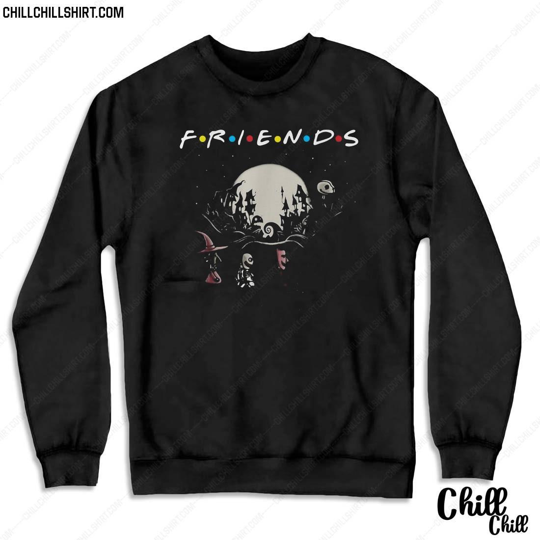 Halloween Jack Skellington And Friends Crossing Road Shirt Sweater
