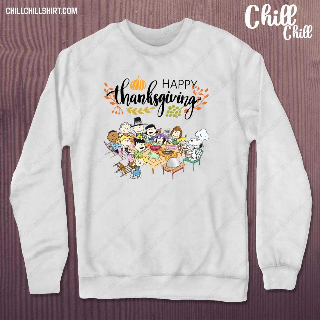 Happy Thanksgiving Peanuts Party Shirt sweater