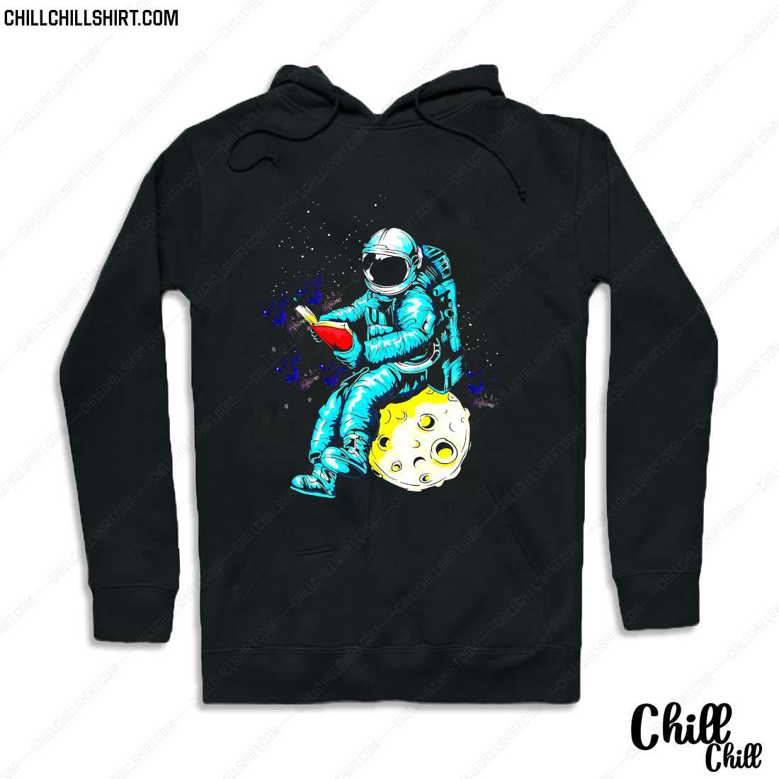 Librarian Astronaut Shirt Hoodie