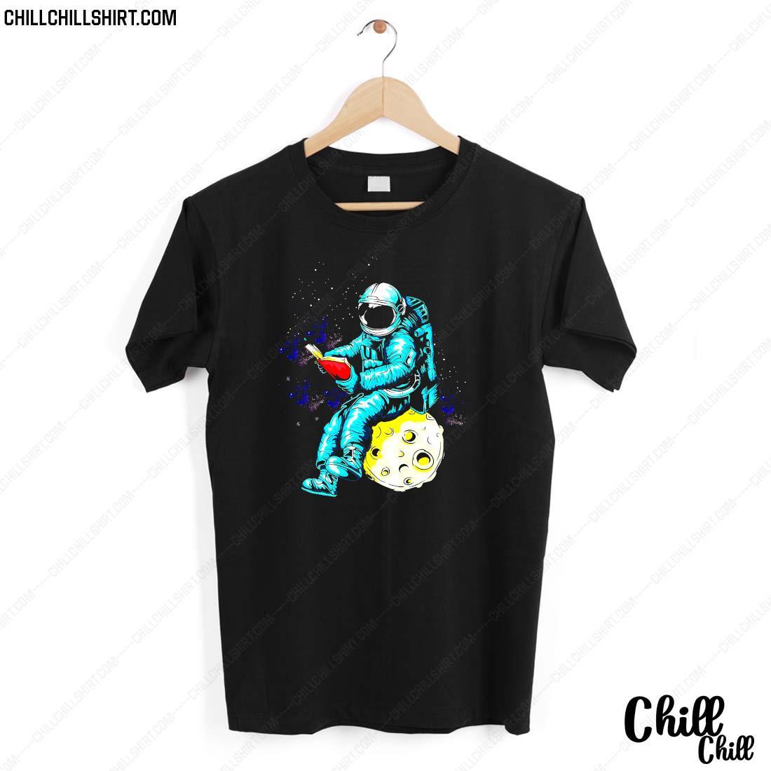 Librarian Astronaut Shirt
