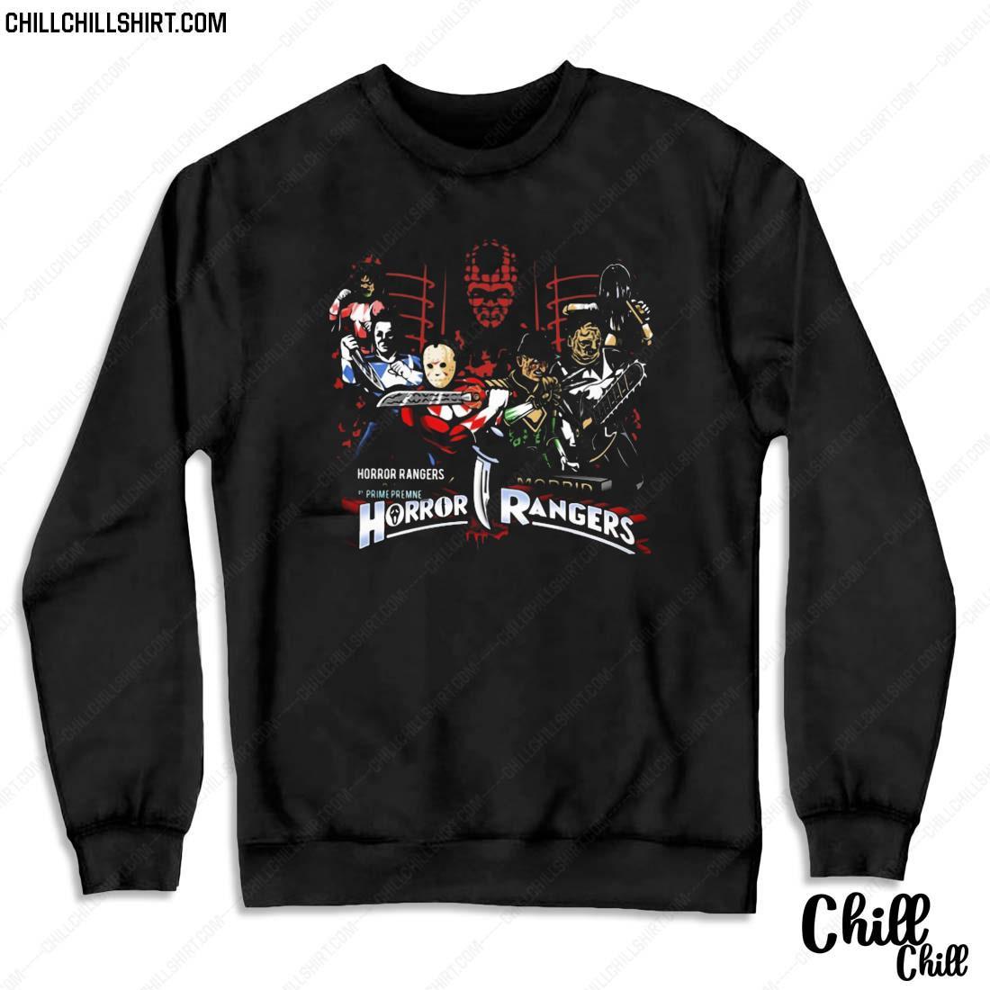 Mighty Morbid Horror Rangers Halloween Shirt Sweater