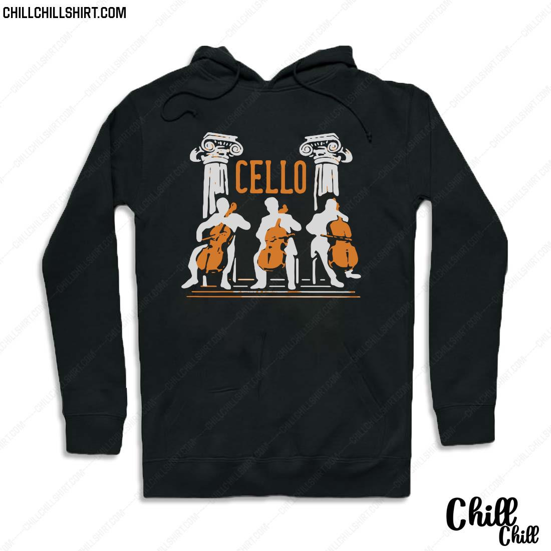 Official Cello Player Shirt Hoodie