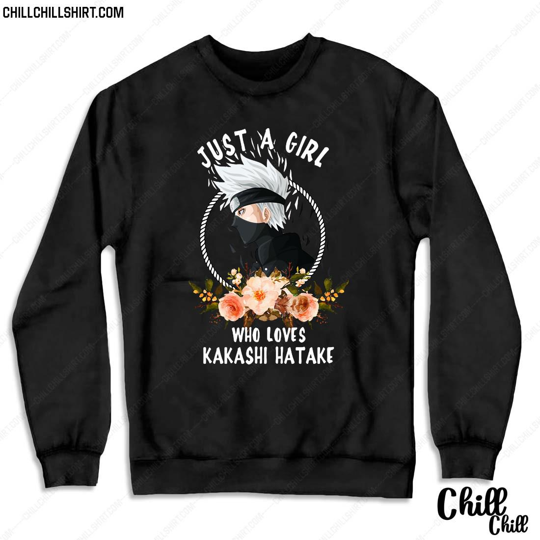 Official Just A Girl Who Loves Kakashi Hatake Shirt Sweater