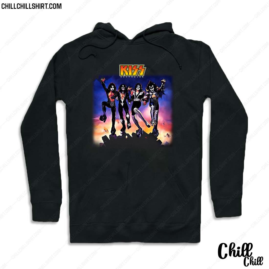 Official Kiss Destroyer Shirt Hoodie