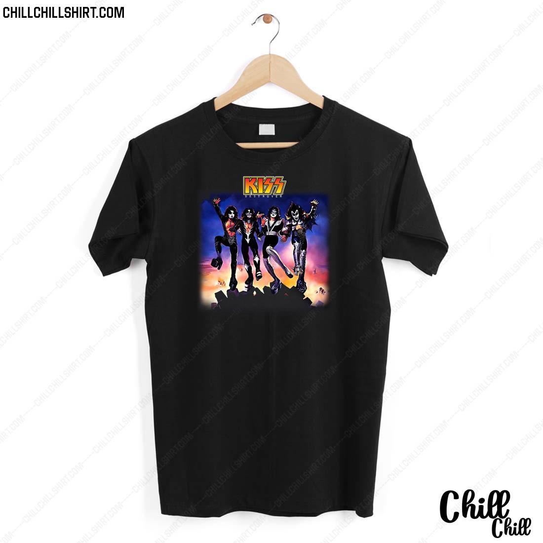 Official Kiss Destroyer Shirt