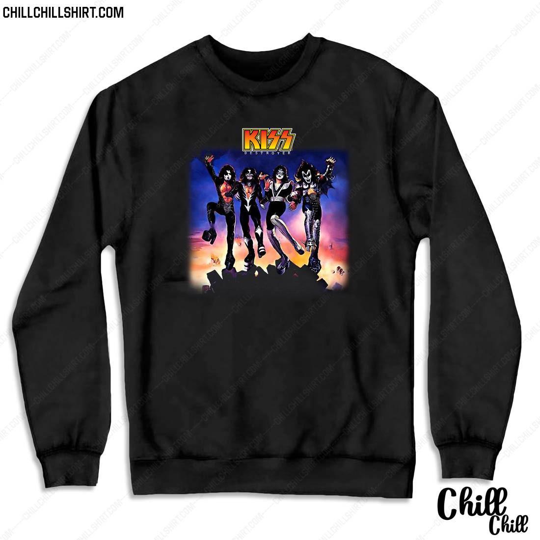 Official Kiss Destroyer Shirt Sweater