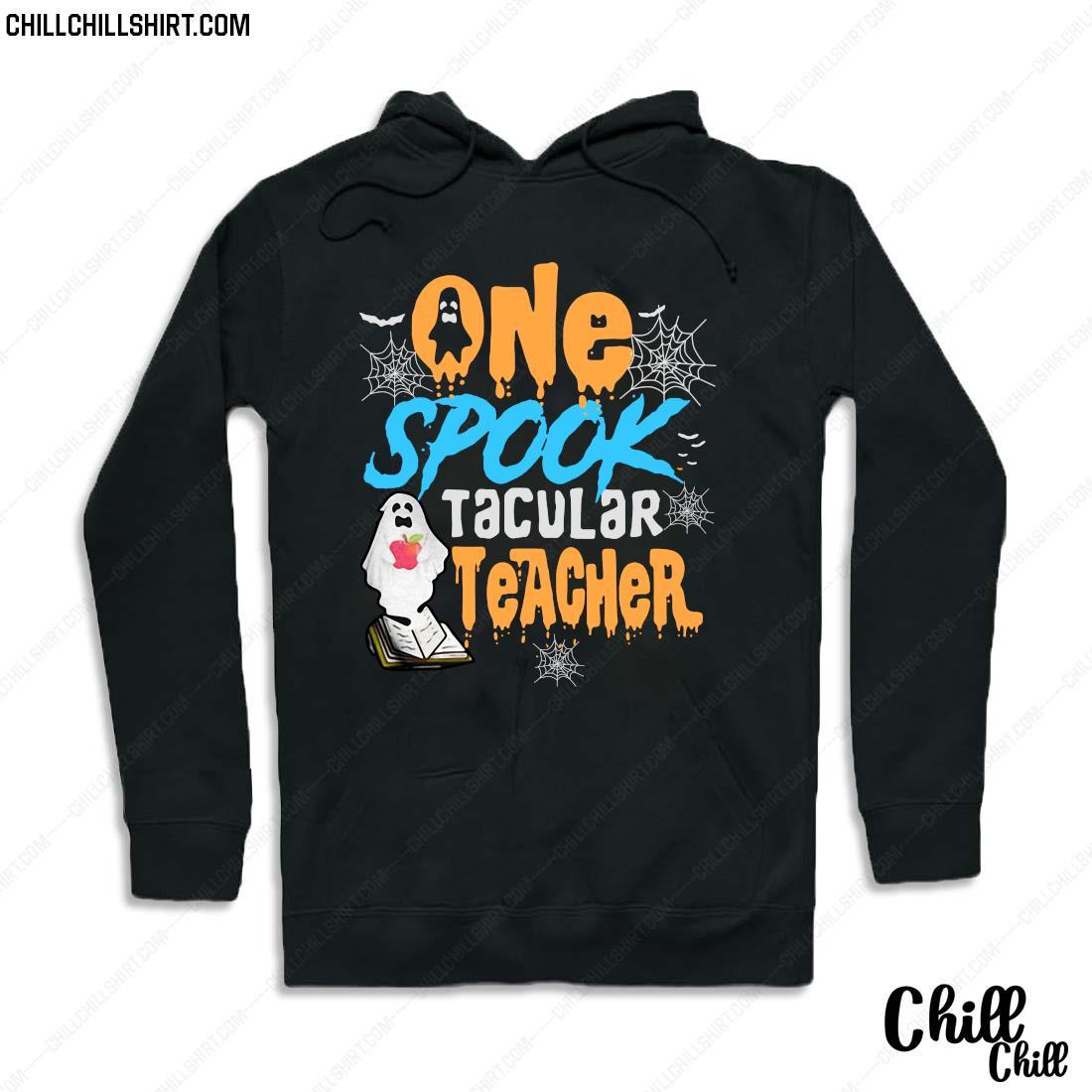 One Spooktacular Teacher Halloween Ghost School Shirt Hoodie